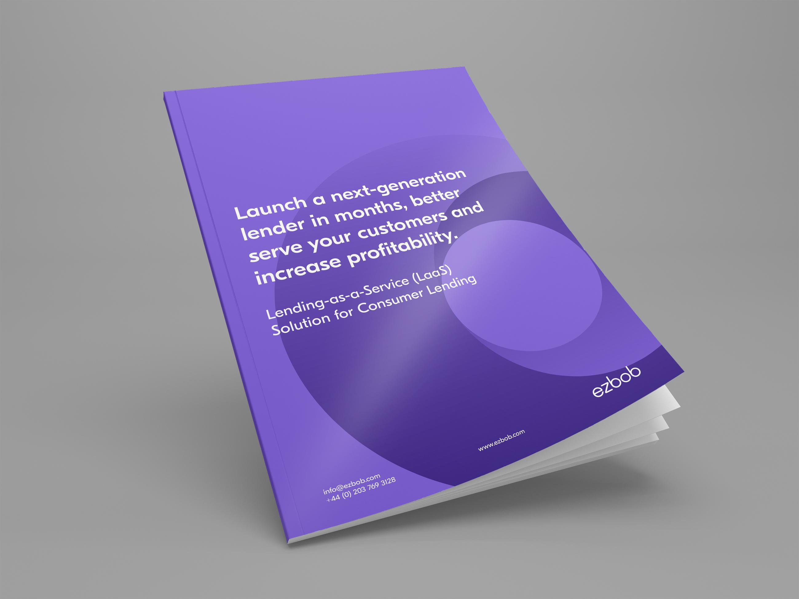 ezbob brochure - Consumer Lending cover